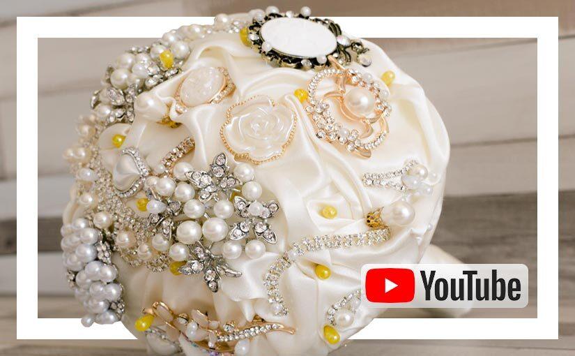 Video buchet brose ivoar auriu